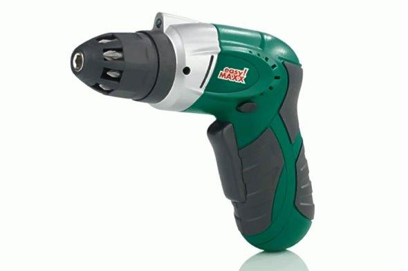 Easy-Maxx-Akkuschrauber-Ergo-Plus-LED-Ladegeraet-Heimwerker-Werkzeug-Schrauber