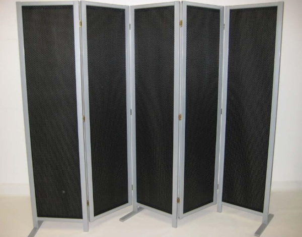 leco paravent sichtschutz flechtoptik 2 50 x 1 84m neu ebay. Black Bedroom Furniture Sets. Home Design Ideas