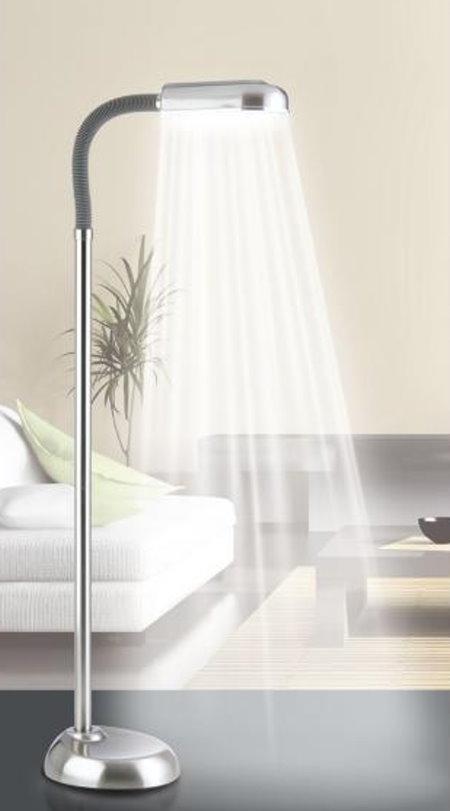 tv original daylight edelstahl tageslicht stehlampe lampe leuchte stehleuchte ebay. Black Bedroom Furniture Sets. Home Design Ideas