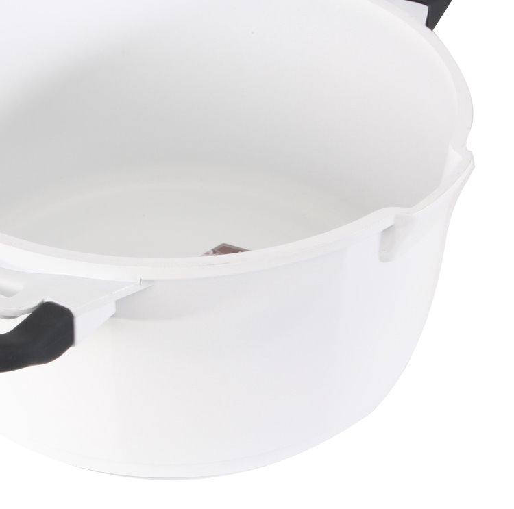 7tlg aluguss keramik kochtopf set induktion topf pfanne bratpfanne topfset ebay. Black Bedroom Furniture Sets. Home Design Ideas