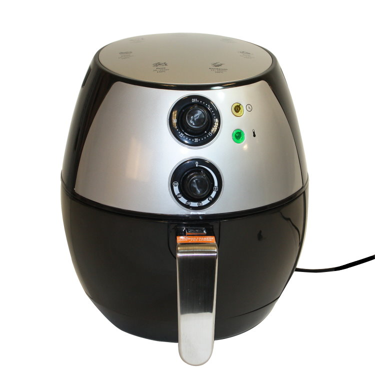 elektrische hei luftfritteuse 2l hei luft friteuse fritteuse frit se 1300 watt ebay. Black Bedroom Furniture Sets. Home Design Ideas