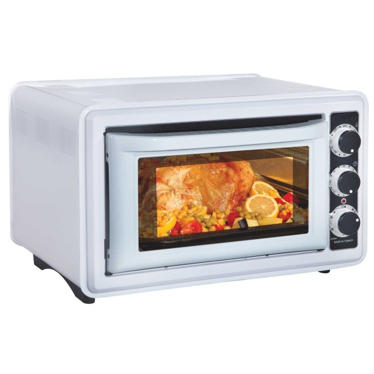 ... Mini Oven Pizza Oven With Timer And Baking Oven Toaster Oven 36L