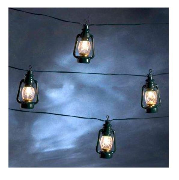 Konstsmide 14,5m LED Party Deko Lichterkette Laterne Garten ...