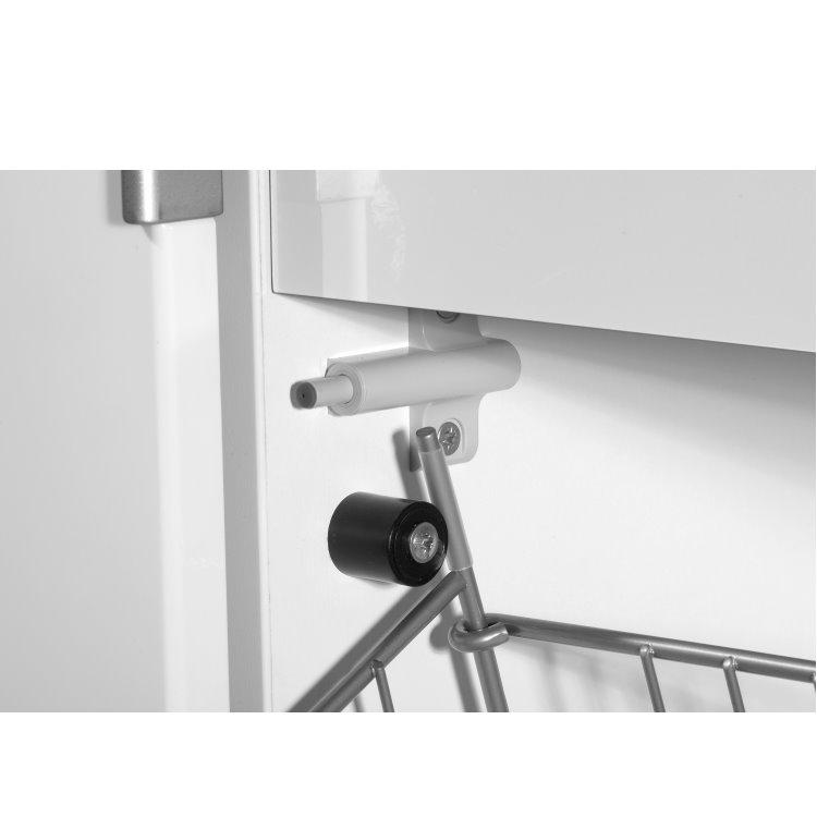 germania hochglanz garderobe schrank flur mit schiebet r. Black Bedroom Furniture Sets. Home Design Ideas