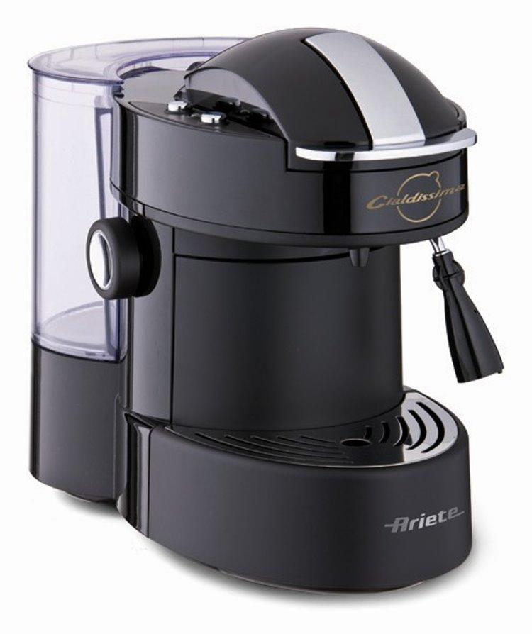 ariete cialdissima kaffeepadmaschine kaffeemaschine k chenmaschine padmaschine ebay. Black Bedroom Furniture Sets. Home Design Ideas