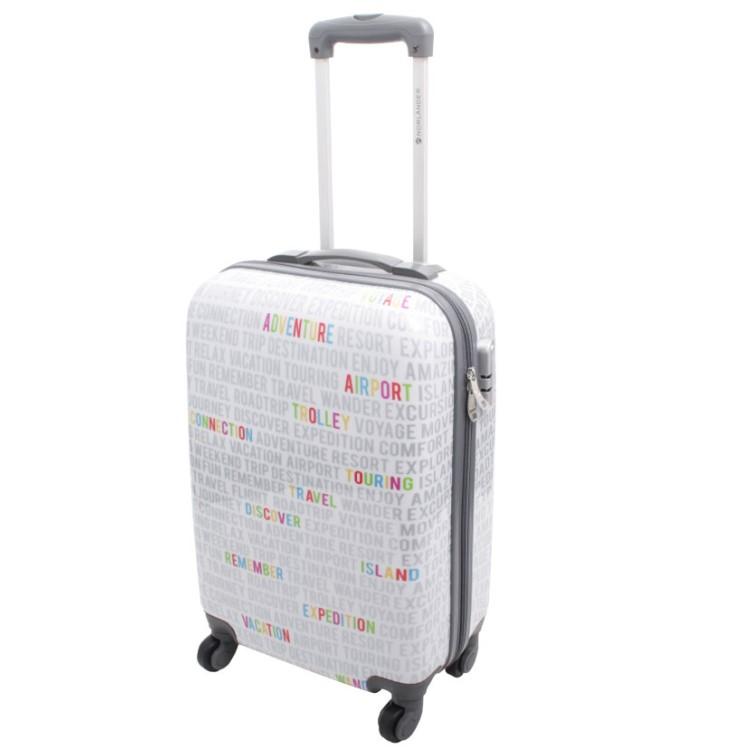 norl nder polycarbonat motiv trolley board koffer reisekoffer handgep ck london ebay. Black Bedroom Furniture Sets. Home Design Ideas