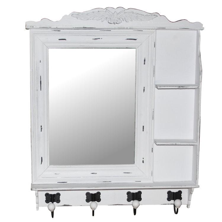 landhaus garderobe vintage shabby deko hakenleiste spiegel fotorahmen tafel ebay. Black Bedroom Furniture Sets. Home Design Ideas