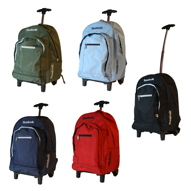 reebok rucksack trolley tasche schulrucksack reisetasche schultasche ranzen ebay. Black Bedroom Furniture Sets. Home Design Ideas