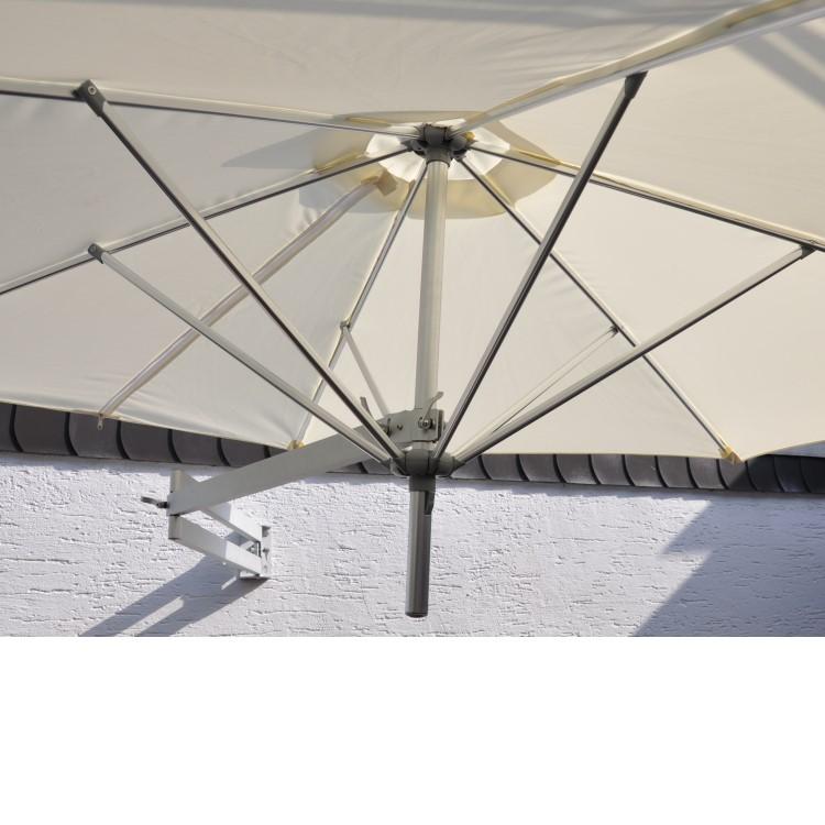leco wandschirm ampelschirm 2 50m sonnenschirm sonnenschutz markise schirm natur ebay. Black Bedroom Furniture Sets. Home Design Ideas