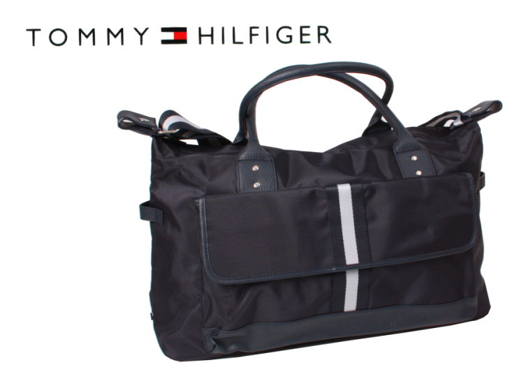 tommy hilfiger reisetasche sporttasche bag schulter tasche shopper handtaschen ebay. Black Bedroom Furniture Sets. Home Design Ideas