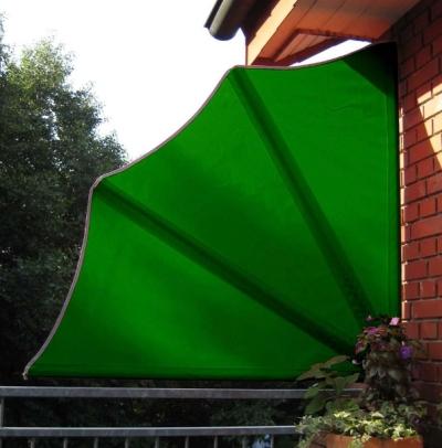 leco balkon f cher sichtschutz schutzh lle in gr n ebay. Black Bedroom Furniture Sets. Home Design Ideas