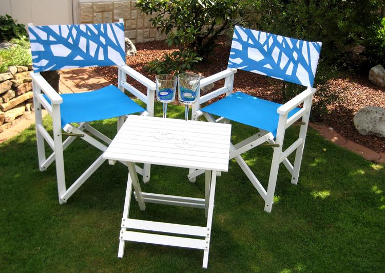 balkonset leco holz sitzgruppe klapptisch 2x stuhl gartentisch tisch turin aqua ebay. Black Bedroom Furniture Sets. Home Design Ideas