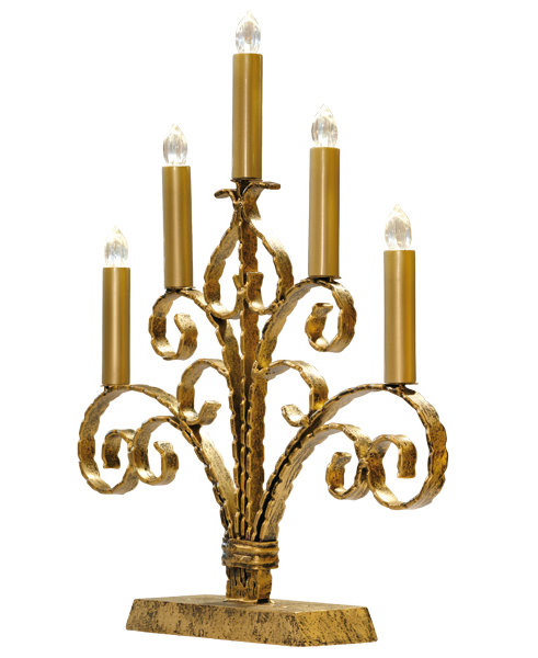 kabelloser led kerzenst nder nostalgie kerzenhalter kerzenleuchter gold ebay. Black Bedroom Furniture Sets. Home Design Ideas
