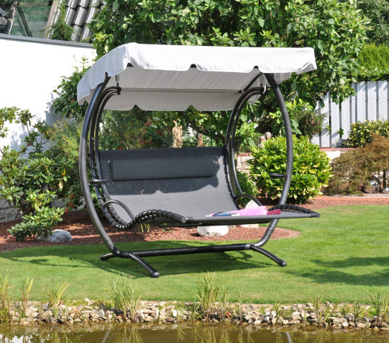 leco duo liege swing xxl sonnenliege gartenm bel hollywood. Black Bedroom Furniture Sets. Home Design Ideas