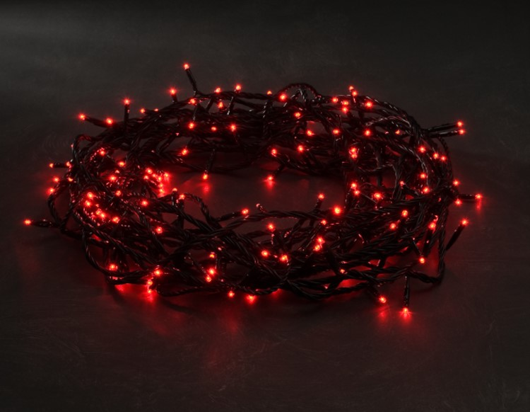 xl konstsmide micro led lichterkette christbaum beleuchtung in rot weihnachten ebay. Black Bedroom Furniture Sets. Home Design Ideas