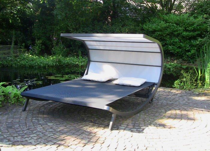 Doppel sonnenliege alu  Lounge Liege Garten – godsriddle.info