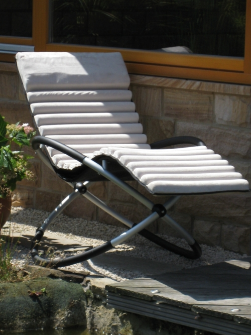leco schaukelstuhlkissen stuhlkissen auflage schaukelstuhl kissen garten neu. Black Bedroom Furniture Sets. Home Design Ideas