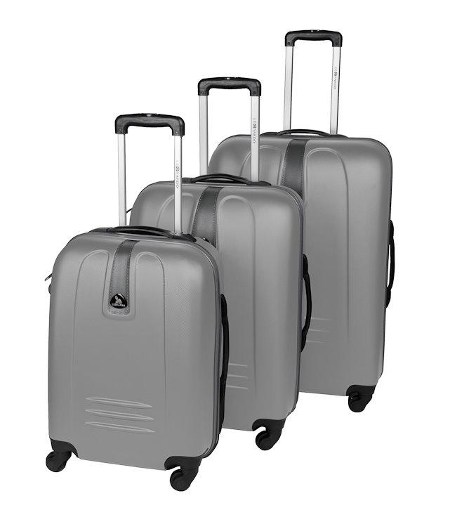 3tlg trolley set reisekoffer koffer hartschale kofferset. Black Bedroom Furniture Sets. Home Design Ideas