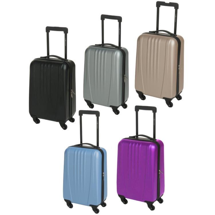 31 5l leonardo koffer reisekoffer handgep ck trolley. Black Bedroom Furniture Sets. Home Design Ideas