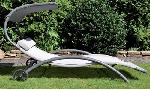 leco sonnenbett 120x185cm doppelliege sonnenliege gartenliege garten m bel liege ebay. Black Bedroom Furniture Sets. Home Design Ideas