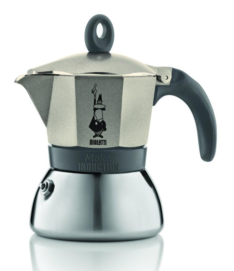 bialetti induktion espressokocher 3 tassen moka espresso kocher espressomaschine ebay. Black Bedroom Furniture Sets. Home Design Ideas