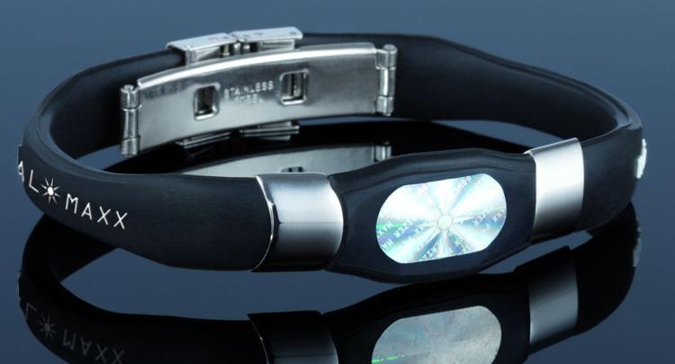UVP-39-99-Vital-Maxx-Armband-Hologramm-Energie-Balance-in-schwarz