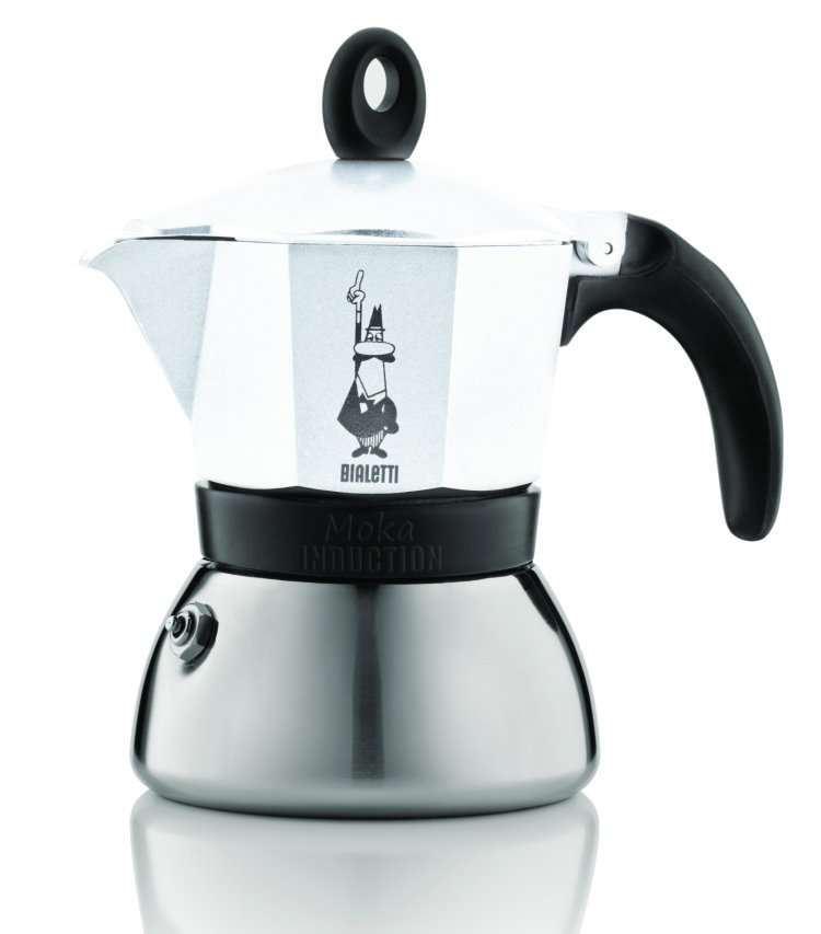bialetti induktion espressokocher 6 tassen moka espresso kocher espressomaschine ebay. Black Bedroom Furniture Sets. Home Design Ideas