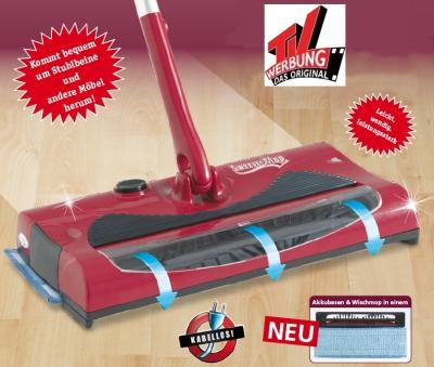 2-in-1-Sweeper-Mop-Akkubesen-Wischmop-Mop-aus-dem-TV-Akkusauger-kabellos-Neu