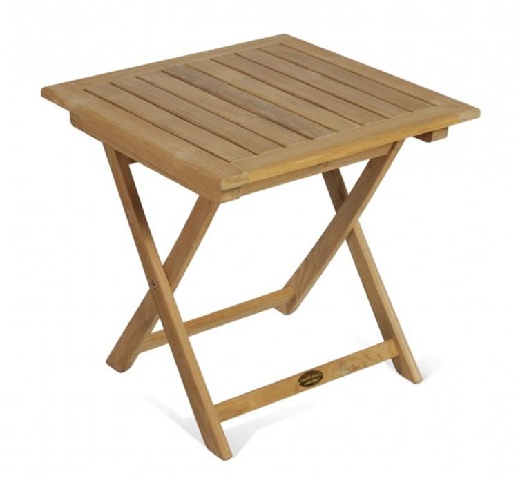 Beistelltisch Holz Terrasse ~   Teak Garten Holz Tisch Beistelltisch Solo Terrasse Gartenmöbel  eBay