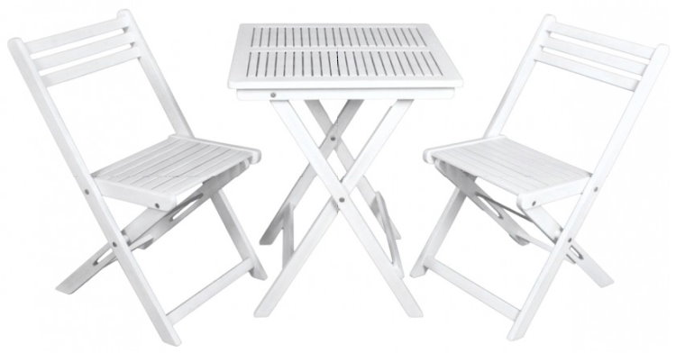 3tlg akazie garten sitzgruppe tischgruppe balkon set tisch stuhl st hle klappbar ebay. Black Bedroom Furniture Sets. Home Design Ideas
