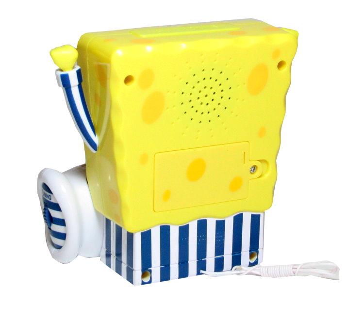 carrera spongebob schwammkopf kinder radiowecker wecker reisewecker radio neu ebay. Black Bedroom Furniture Sets. Home Design Ideas
