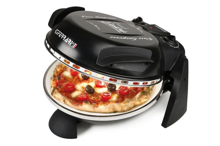 pizzaofen delizia pizzamaker ofen kompaktofen mini backofen miniofen ebay. Black Bedroom Furniture Sets. Home Design Ideas