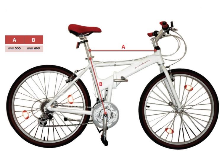 designer pininfarina city klapp fahrrad 26 zoll klapprad. Black Bedroom Furniture Sets. Home Design Ideas