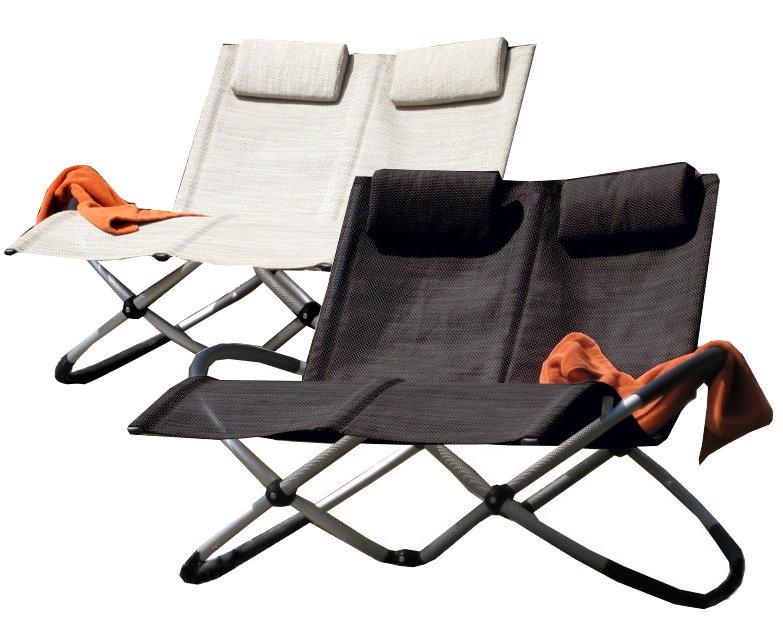 leco luxus doppelliege schaukelstuhl duo garten liege gartenstuhl sonnenliege ebay. Black Bedroom Furniture Sets. Home Design Ideas