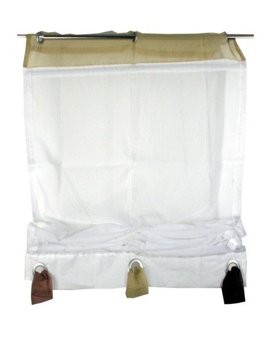 raffrollo fenster falt rollo plissee jalousien gardine vorhang raffgardine voile ebay. Black Bedroom Furniture Sets. Home Design Ideas