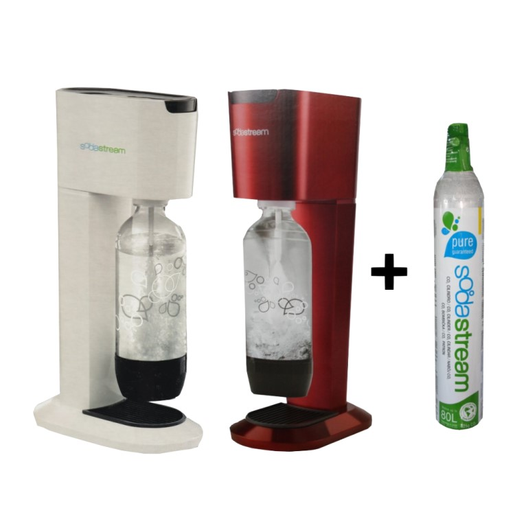 soda stream genesis flasche zylinder trinkwassersprudler wasseraufbereiter ebay. Black Bedroom Furniture Sets. Home Design Ideas