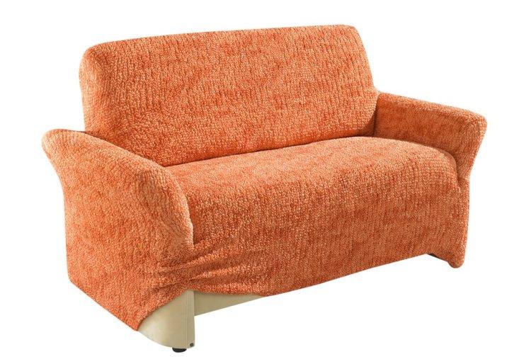 gaico stretch husse sofa berwurf 2 sitzer sofa couch staubschutz berwurf terra ebay. Black Bedroom Furniture Sets. Home Design Ideas