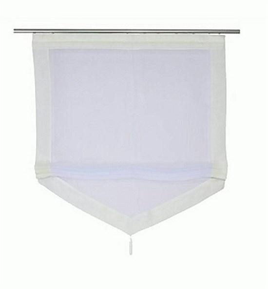 raffrollo fenster falt rollo plissee fertideko gardine. Black Bedroom Furniture Sets. Home Design Ideas