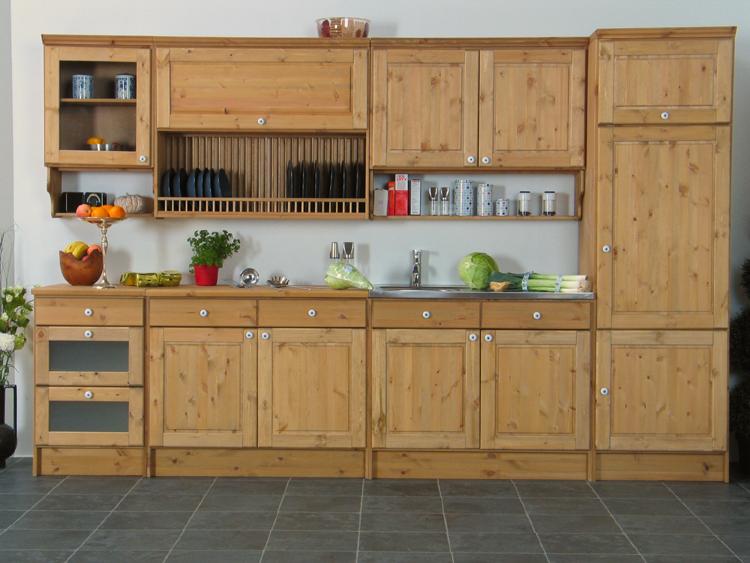 Klassische küche kiefer  Küche Kiefer Massiv ~ Die Besten Einrichtungsideen und innovative ...