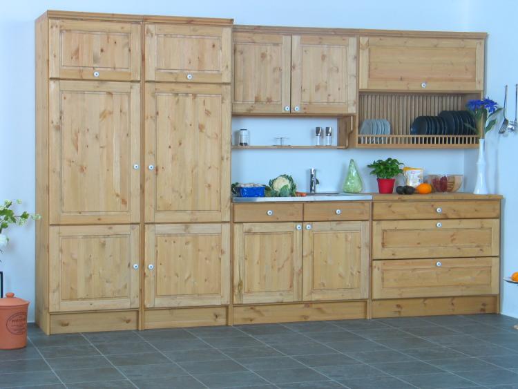 Küche Kiefer Massiv  Haus Design Ideen