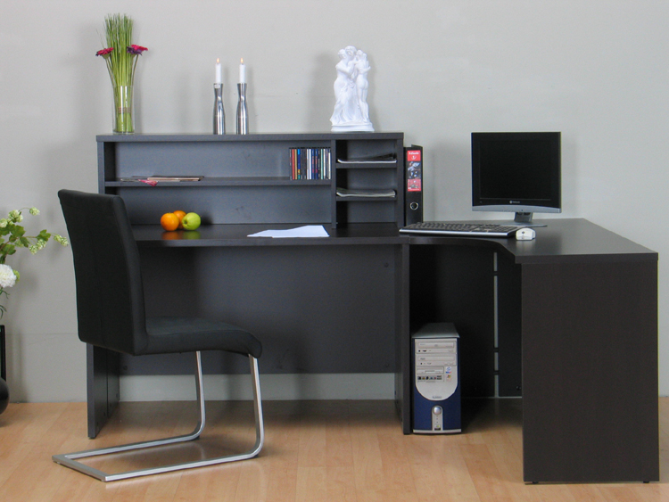 eckschreibtisch schreibtisch louise computertisch neu ebay. Black Bedroom Furniture Sets. Home Design Ideas