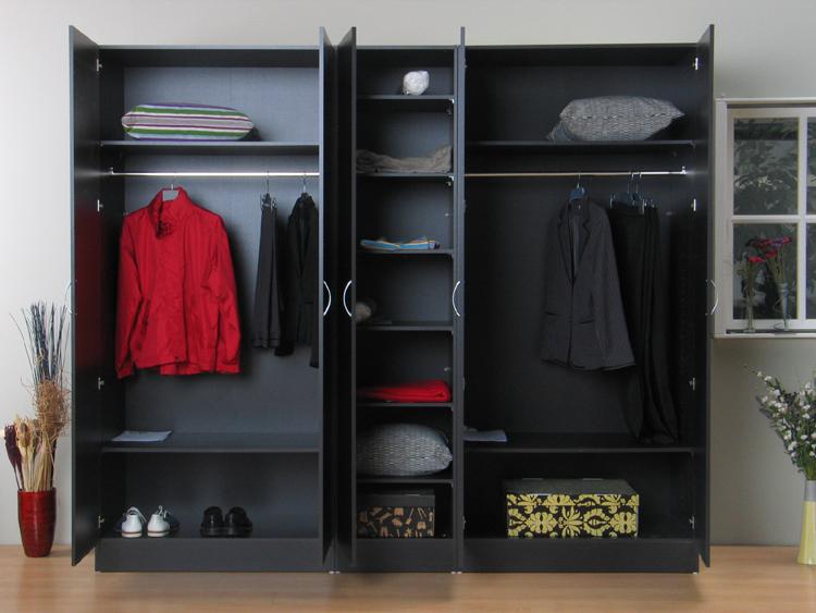 5trg kleiderschrank milano schrank schlafzimmerschrank. Black Bedroom Furniture Sets. Home Design Ideas