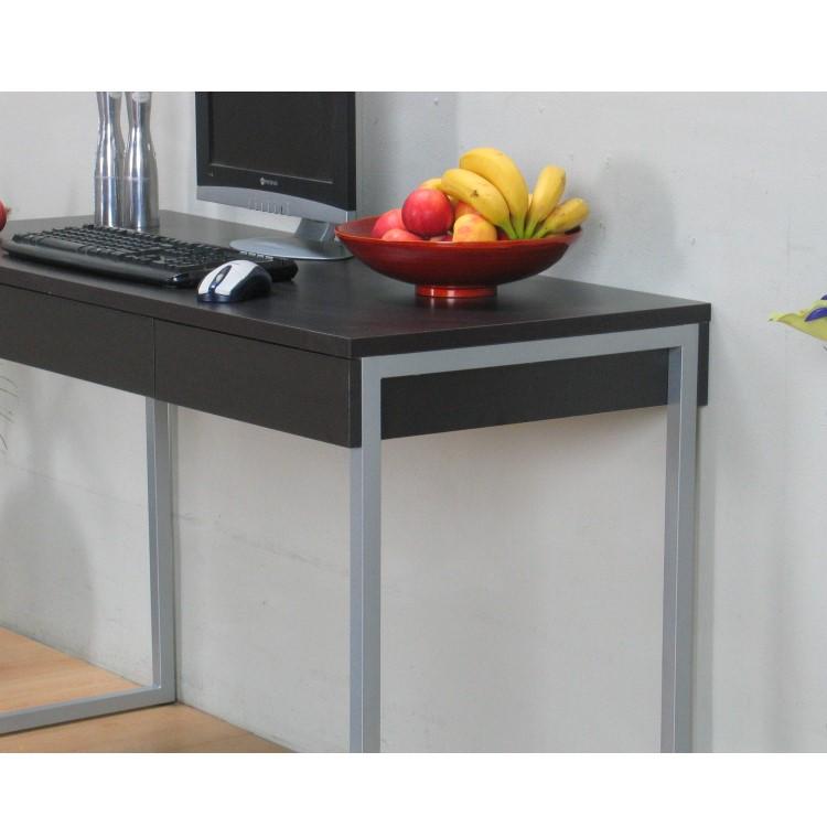 Schreibtisch function 3 schubladen b ro computer tisch for Schreibtisch ohne schubladen