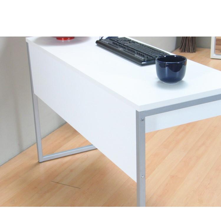 schreibtisch computer pc tisch arbeitstisch function 2 schubladen b ro wei m bel wohnen tische. Black Bedroom Furniture Sets. Home Design Ideas