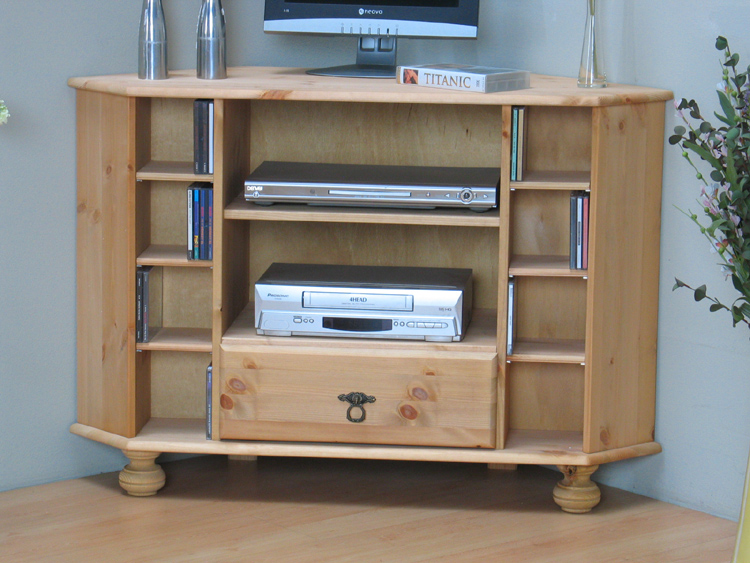 tv tisch ecktisch fernsehschrank schrank kommode kiefer eckschrank massiv ebay. Black Bedroom Furniture Sets. Home Design Ideas
