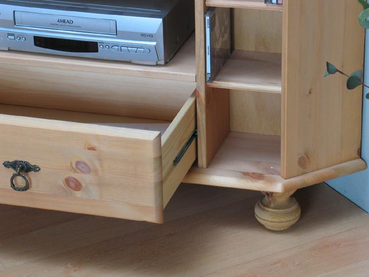 tv tisch ecktisch fernsehschrank schrank kommode kiefer eckschrank massiv ebay. Black Bedroom Furniture Sets. Home Design Ideas
