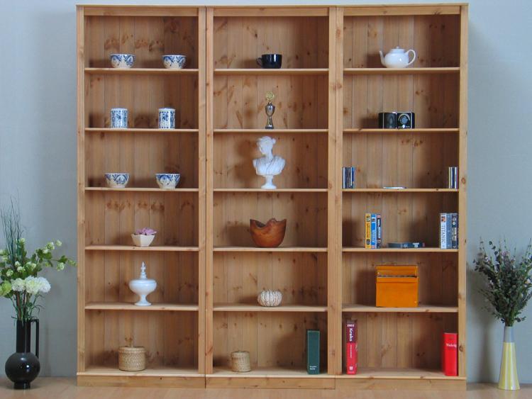 wohnwand b cherregal regal kiefer massiv schrank regalwand. Black Bedroom Furniture Sets. Home Design Ideas