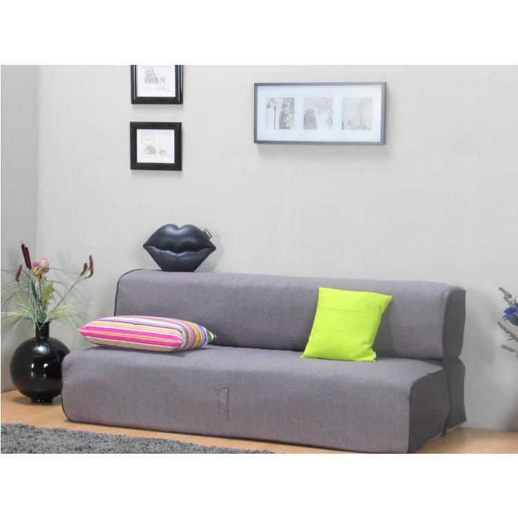 schlafsofa 127x180cm schlafcouch klappcouch bett g stebett. Black Bedroom Furniture Sets. Home Design Ideas