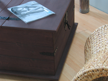 massiver kiefer truhentisch mexico truhe tisch kolonial ebay. Black Bedroom Furniture Sets. Home Design Ideas