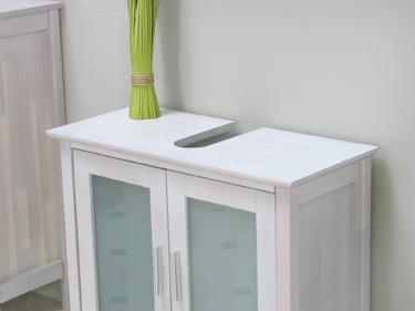 6tlg badm bel badezimmer walnuss barcelona massiv neu. Black Bedroom Furniture Sets. Home Design Ideas